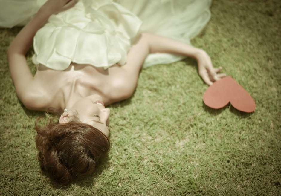 ジ・オベロイ・バリの美しいガーデンブライダルアイテムの持ち込みは自由