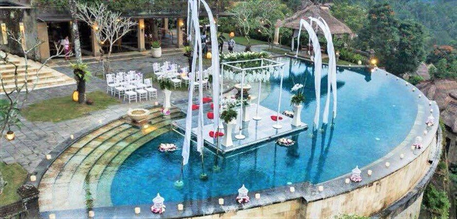 Infinity Pool Floating Wedding