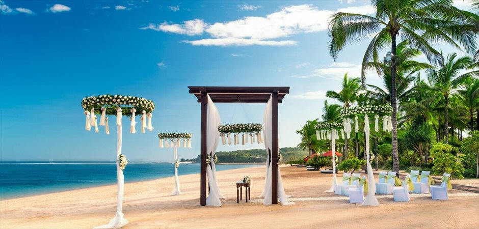 Strand Villa White Rose Beach Wedding
