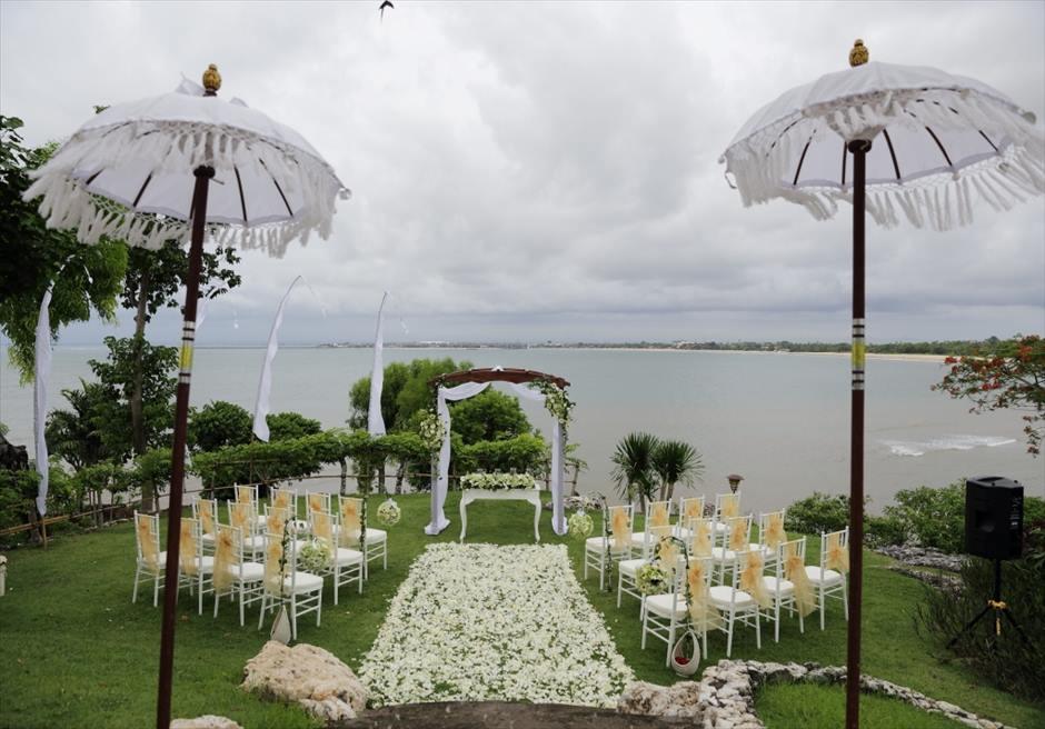 フォーシーズンズ・リゾート・ジンバラン挙式 ジンバラン・ガーデン・ウェディング