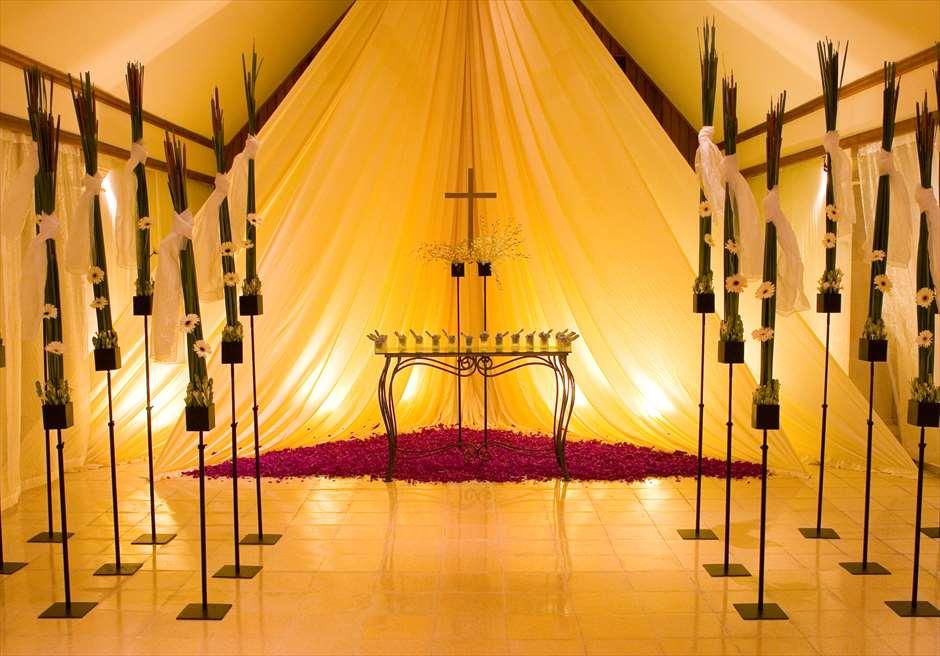 バレ・バンジャール ジ・オベロイ・バリでは様々な装飾のご要望に対応可能