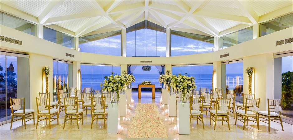 Beachfront Chapel Sea Breeze Wedding