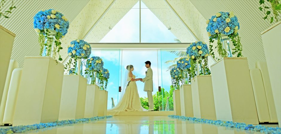 BLESS BALI original All Blue Chapel Wedding