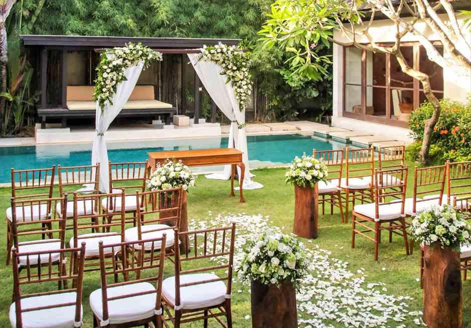 Villa Air Bali Wedding