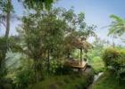 ティルタ・サリ ジャングルに囲まれた東屋