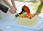 ブルガリ リゾート バリ挙式 ウェディングケーキ
