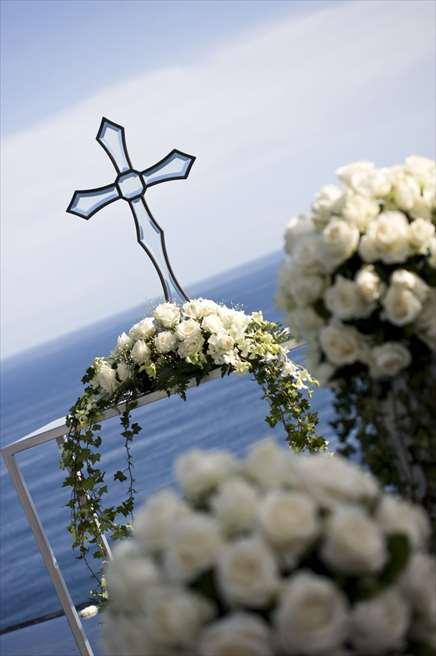 ブルガリ・ウォーター・ウェディング<br /> ホワイトアップグレード装飾