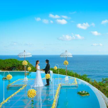 BLESS BALIウェディング<br>最も自由なバリ島挙式を