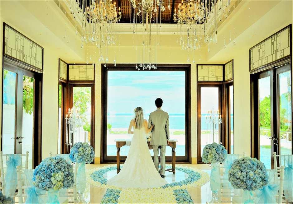 セント・レジス・クラウド・ナイン・チャペル 挙式 バリ島結婚式チャペル・ウェディング