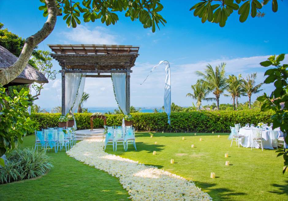 アヤナ・アスマラ・ガーデン挙式 バリ島ガーデン・ウェディング