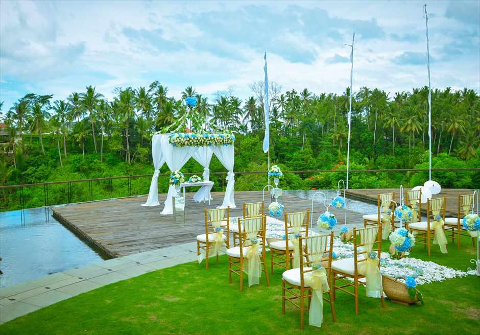 カマンダル・ウブド 水上&ガーデン挙式 バリ島結婚式ウブド・ウェディング