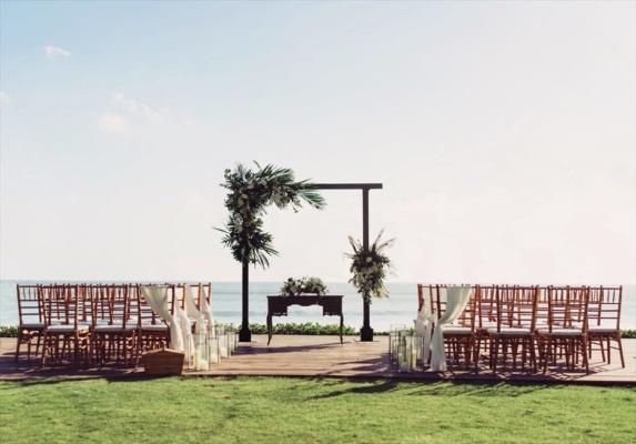 バリ島挙式 アリラ・スミニャック結婚式 ガーデン・ウェディング