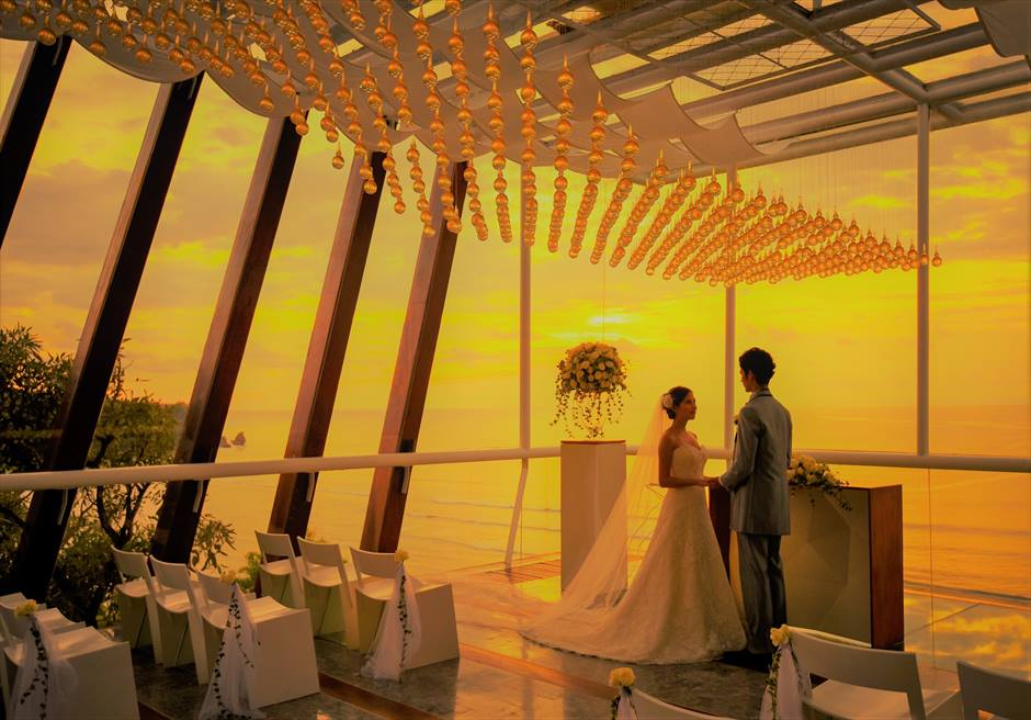 バリ島チャペルウェディング・挙式時間帯