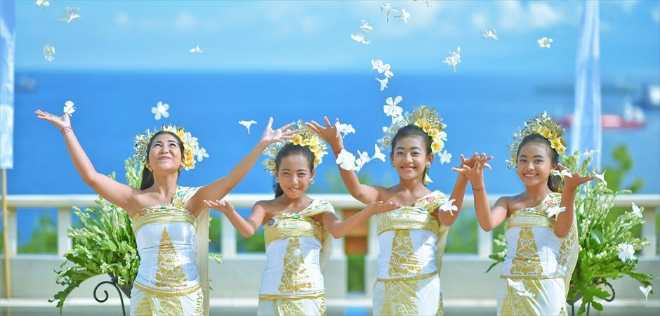 バリ島ウェディングの特徴-Aman Wedding ~アマン・ウェディング
