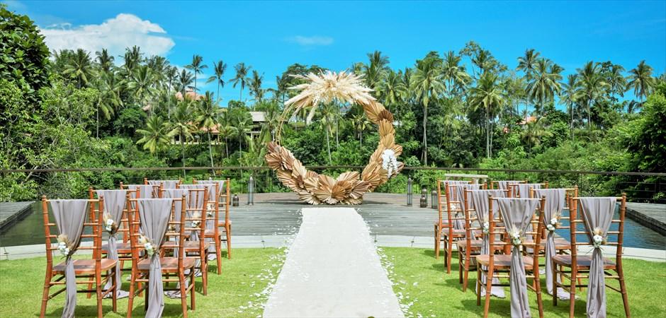 バリ島ウェディングの特徴-Ubud Wedding ~ウブド・ウェディング