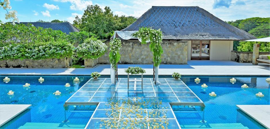 バリ島ウェディングの特徴-Villa Wedding ~ヴィラ・ウェディング