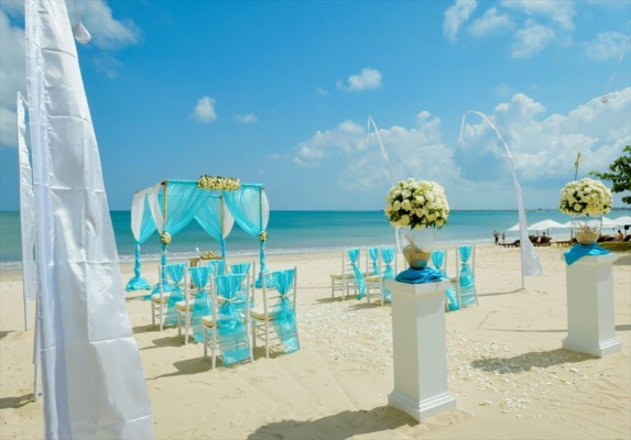 ベルモンド・ジンバラン・プリ・バリ挙式 バリ島結婚式ビーチ・ウェディング