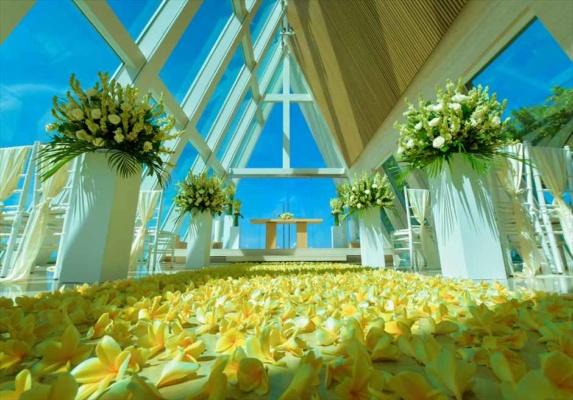 コンラッド・インフィニティ・チャペル挙式 バリ島結婚式 チャペル・ウェディング