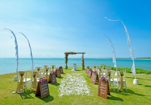 フォーシーズンズ・リゾート・バリ・ジンバラン挙式 バリ島ガーデン・ウェディング