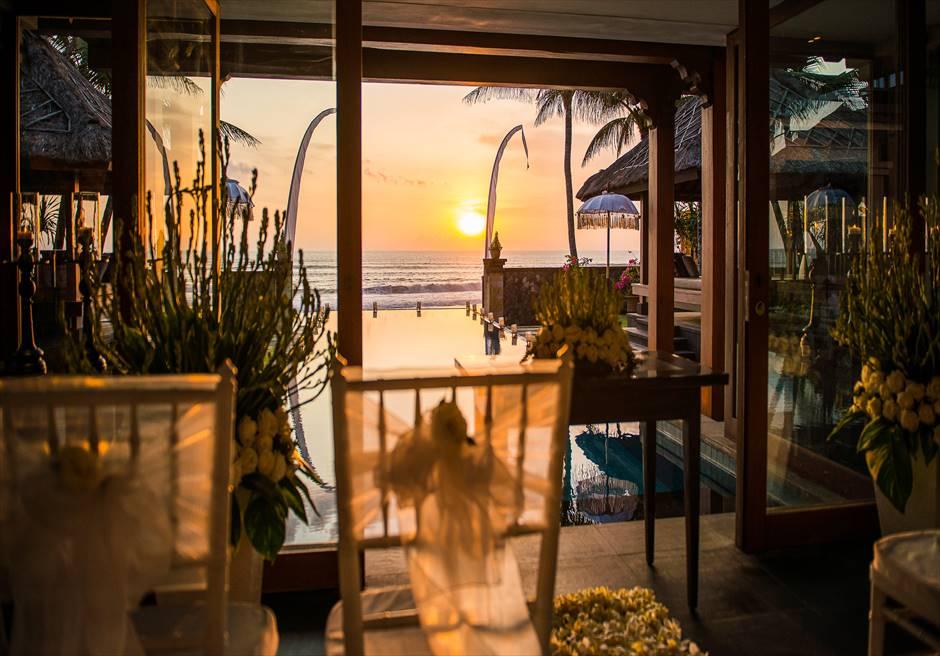 ザ・レギャン・ビーチハウス・ヴィラ挙式 バリ島ヴィラ・ウェディング
