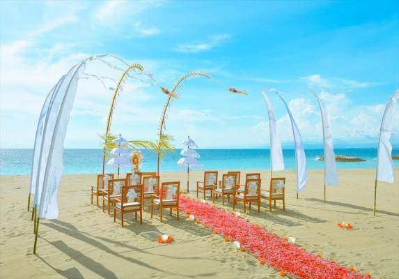 マ・ジョリー・クタ・バリ結婚式 ビーチ・ウェディング 挙式会場