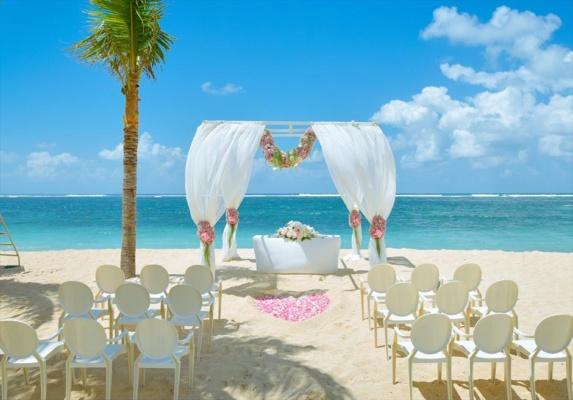 ザ・ムリア・バリ結婚式 ビーチ・ウェディング 挙式会場