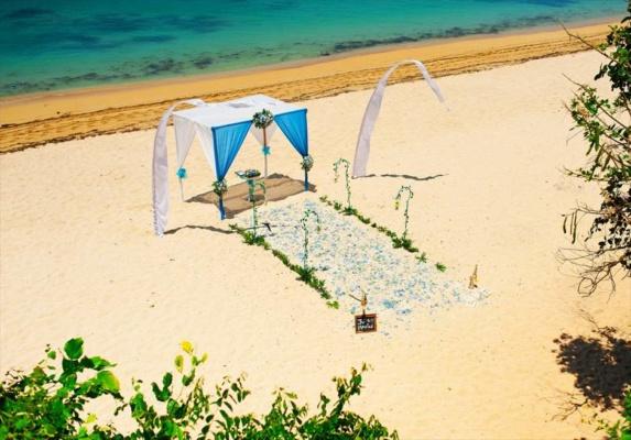 サマベ・バリ結婚式 ビーチ・ウェディング 挙式会場