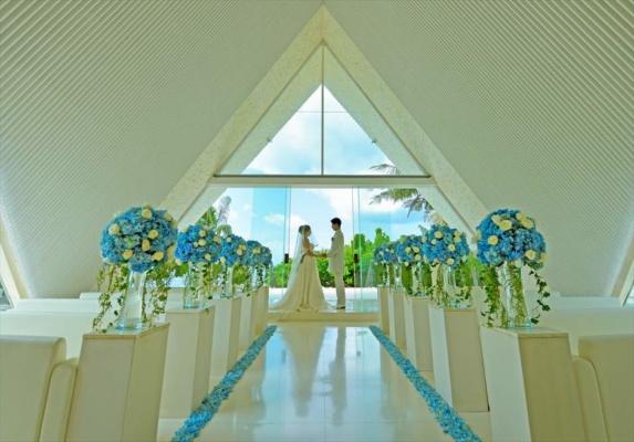 ウル・シャンティ・チャペル挙式 ロイヤル・サントリアン・バリ結婚式チャペル・ウェディング