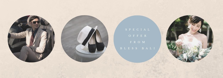 BLESS BALI × Dress Salons