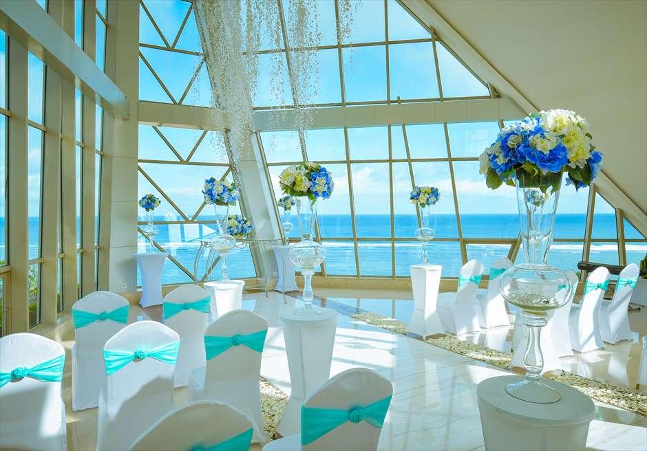 サマベ・パール・チャペル挙式 バリ島結婚式チャペル・ウェディング