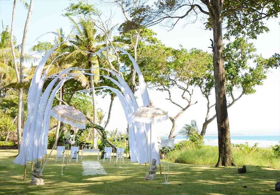 ジ・オベロイ・バリ挙式 バリ島ガーデン・ウェディング