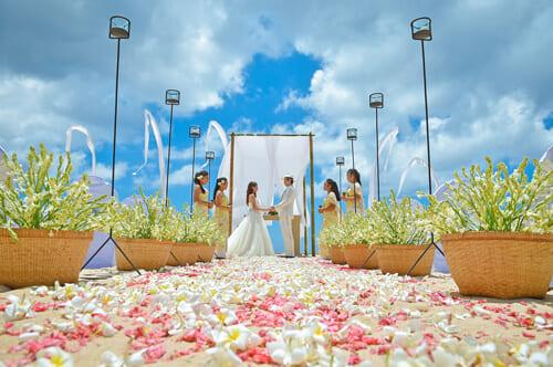 バリ島の挙式スタイルで選ぶ「ビーチ」