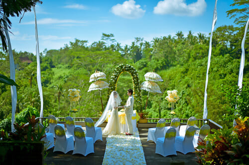 バリ島の挙式スタイルで選ぶ「ウブド」