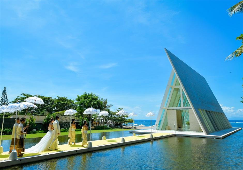 Conrad Bali Infinity Chapel<br>コンラッド・バリ インフィニティ・チャペル