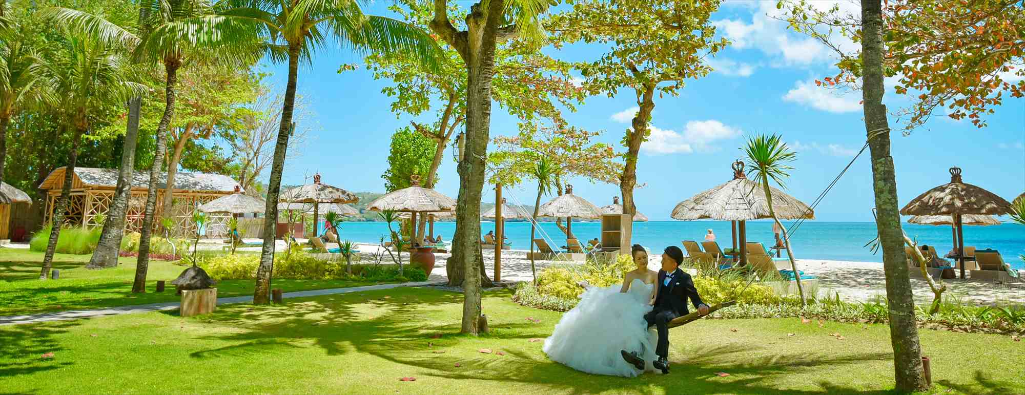 バリ島フォトウェディング Belmond Jimbaran Puri Bali ベルモンド・ジンバラン・プリ・バリ