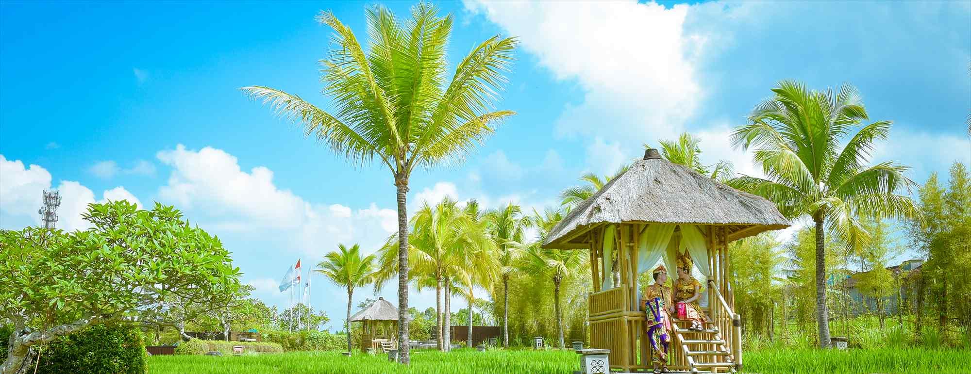 バリ島ウブド・フォトウェディング Kamandalu Ubud カマンダル・ウブド