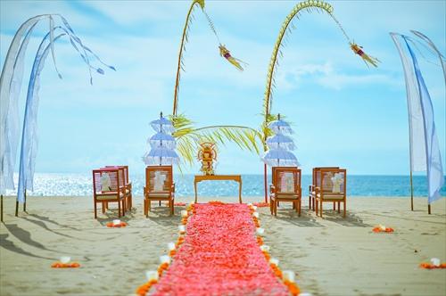 バリ島のウェディングススタイルで選ぶ「バリ式」