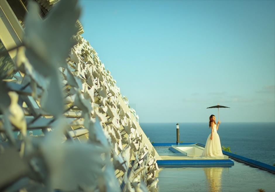 バリ島チャペル・ウェディング/ Banyan Tree Ungasan White Dove Chapel Wedding/ バンヤン・ツリー・ウンガサン/ホワイト・ダブ・チャペル挙式