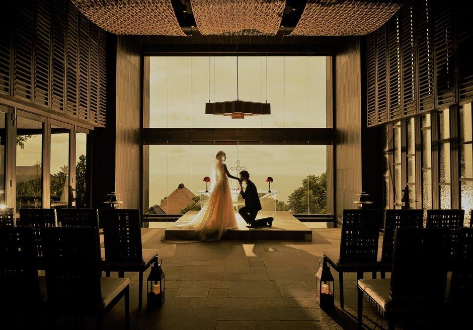 バリ島チャペル・ウェディング/ Bvlgari Resort Bali Chapel Wedding/ ブルガリ リゾート バリ/チャペル挙式