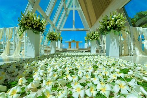 バリ島のウェディングススタイルで選ぶ「チャペル」