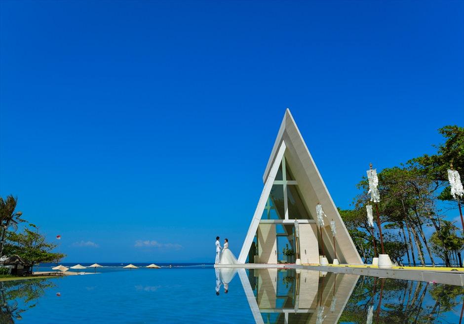 バリ島チャペル・ウェディング/ Conrad Bali Infinity Chapel Wedding/ コンラッド・バリ/インフィニティ・チャペル挙式