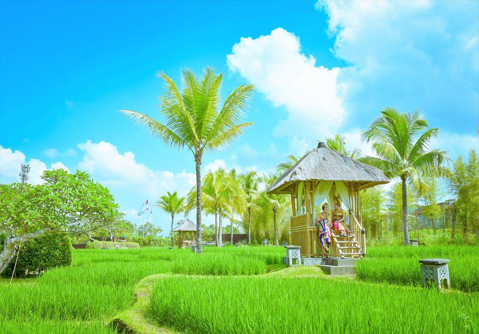 バリ島ウブド・ウェディング/ Kamandalu Ubud Wedding/ カマンダル・ウブド挙式
