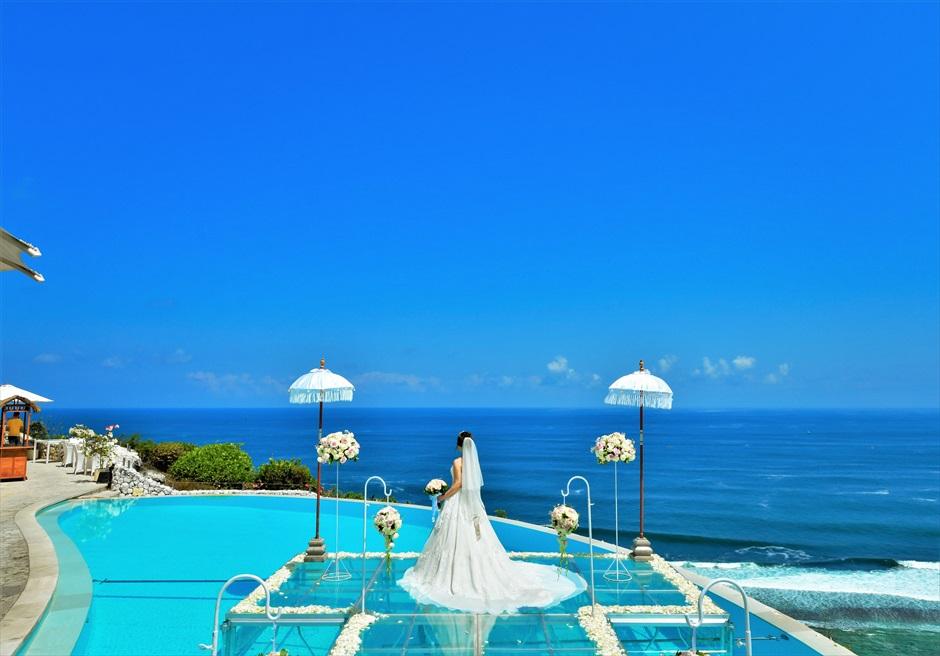 バリ島オーシャン・ウェディング/ Karma Kandara Water Wedding/ カルマ・カンダラ/ウォーター挙式
