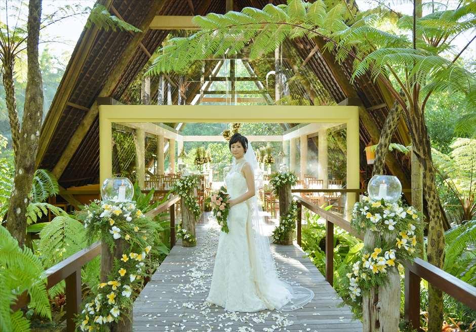 バリ島ウブド・チャペル・ウェディング/ Komaneka at Bisama Wanasmara Chapel Wedding/ コマネカ・ビスマ/ワナスマラ・チャペル挙式