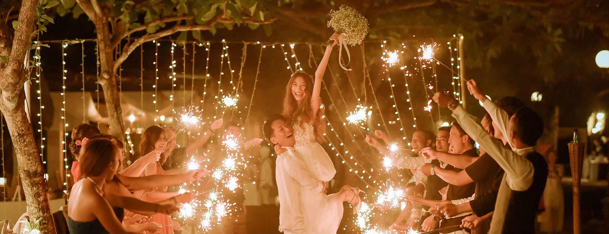 バリ島ガーデン・ウェディング・パーティー Ma Joly Garden Wedding Sprkler マ・ジョリー スパークラー