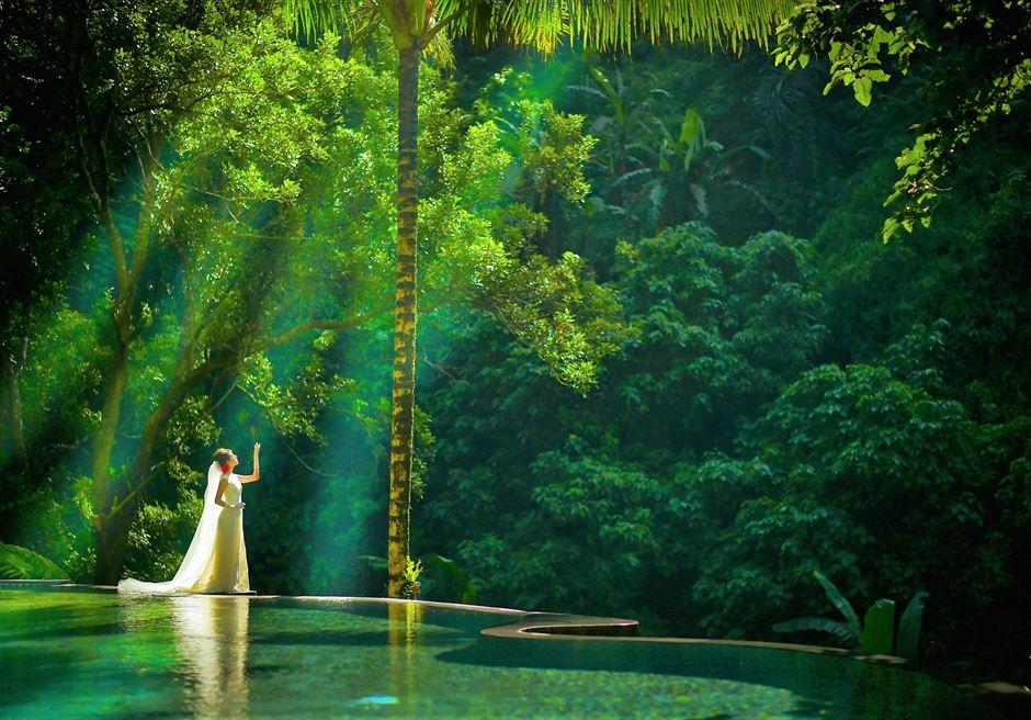 バリ島ウブド・ウェディング/ Maya Ubud Resort Wedding/ マヤ・ウブド・リゾート挙式