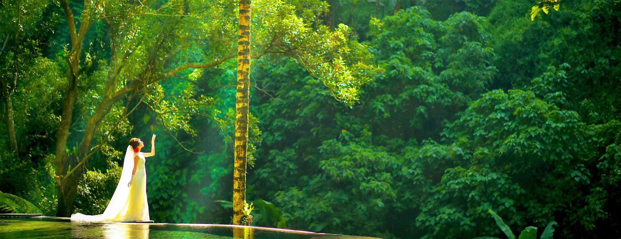 バリ島ウブド・フォトウェディング Maya Ubud Resort ~マヤ・ウブド・リゾート