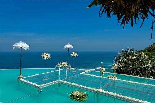バリ島のウェディングスタイルで選ぶ「オーシャン」
