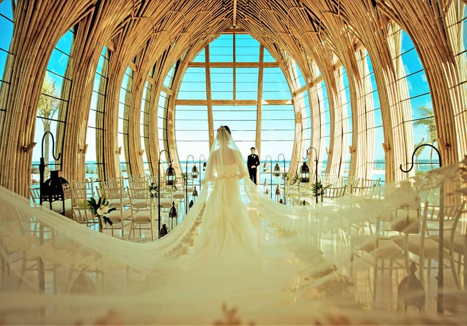 バリ島チャペル・ウェディング/ The Apurva Kempinski Bali Chapel Wedding/ ケンピンスキ/オーシャンフロント・チャペル挙式