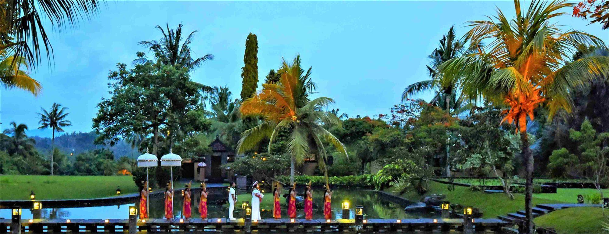 バリ島ウブド・ウェデイング The Chedi Club Tanah Gajah Ubud Bali ザ・チェディ・クラブ・ウブド・バリ挙式